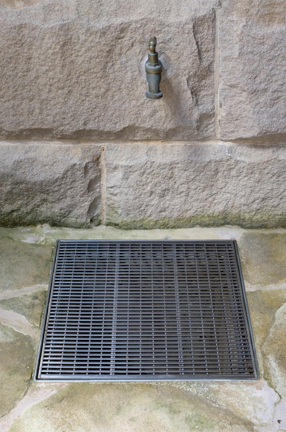Courtyard Patio Drainage Stormtech