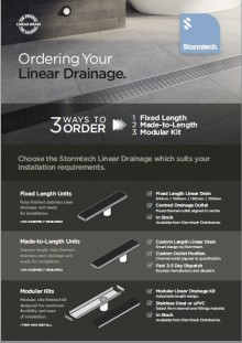 Stormtech 3 Ways to order