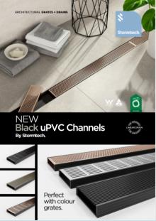 Stormtech Black uPVC Channel