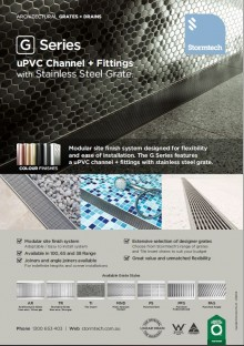 Drainage channel modular kit