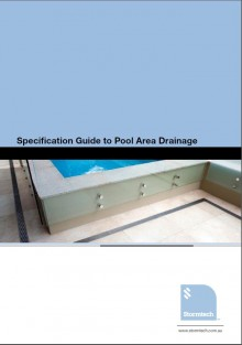 Guide to specify surface water management systems for pools and spa applications