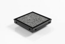 SQP100Ti20-BLACK Tile Insert Drain