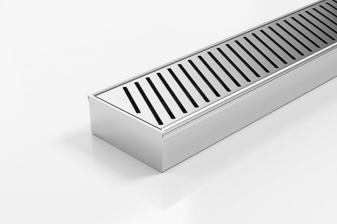 100PASi40MTL Linear Drainage System