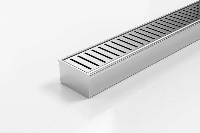 65PPSi40MTL Linear Drainage System